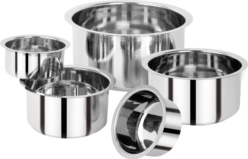 Renberg Steel without Lid Tope Set  (Stainless Steel) at Flipkart ₹399
