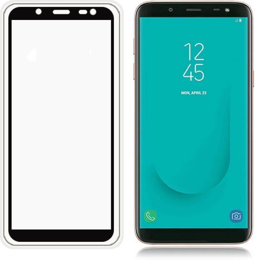 new style f282c 87a5b TIGERIFY Tempered Glass Guard for Samsung Galaxy J6 (6D ) FULL GLUE ...