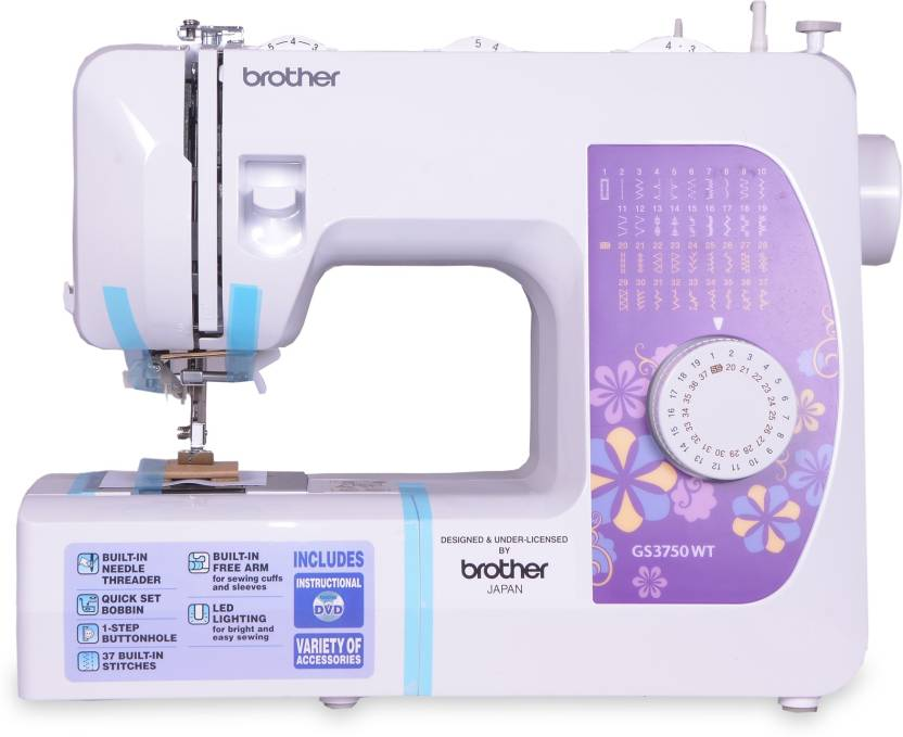 Brother GS3750WT Electric Sewing Machine Price in India