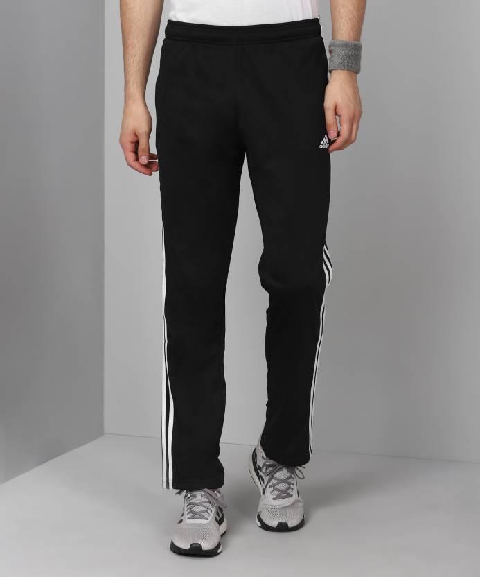ac159e576e ADIDAS Striped Men's Black Track Pants