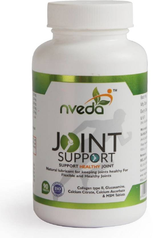 nveda Joint Support 90 tablets for keeping Joints healthy containing  Collagen Type 2, Glucosamine, Calcium and MSM