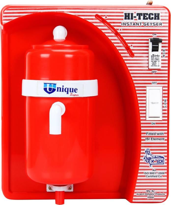 HI-TECH UNIQUE 1 5 L Instant Water Geyser Price in India