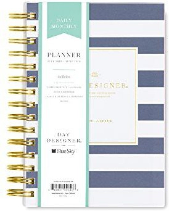 photograph regarding Daily Designer named Blue Sky Working day Designer For 2018-2019 Instructional Calendar year Day by day