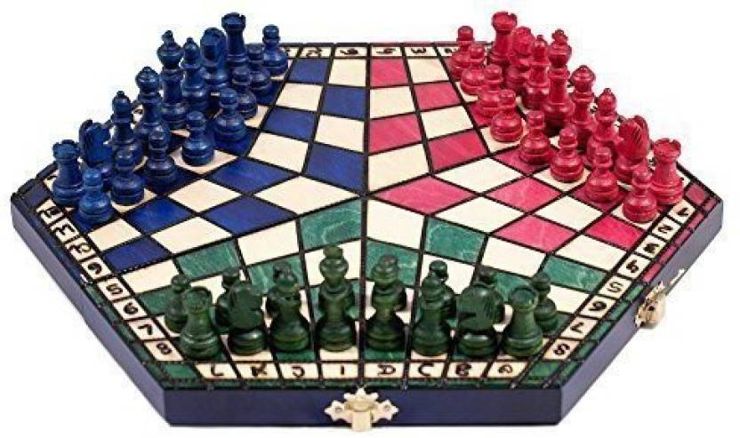 Prime Chess 3 Three Players Set - Small Colour Rules