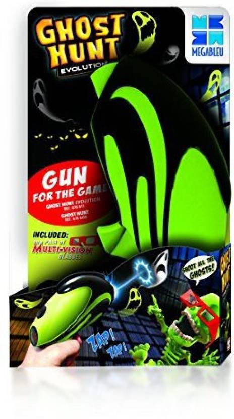 Megableu Ghost Hunt Gun Board Game - Ghost Hunt Gun   shop