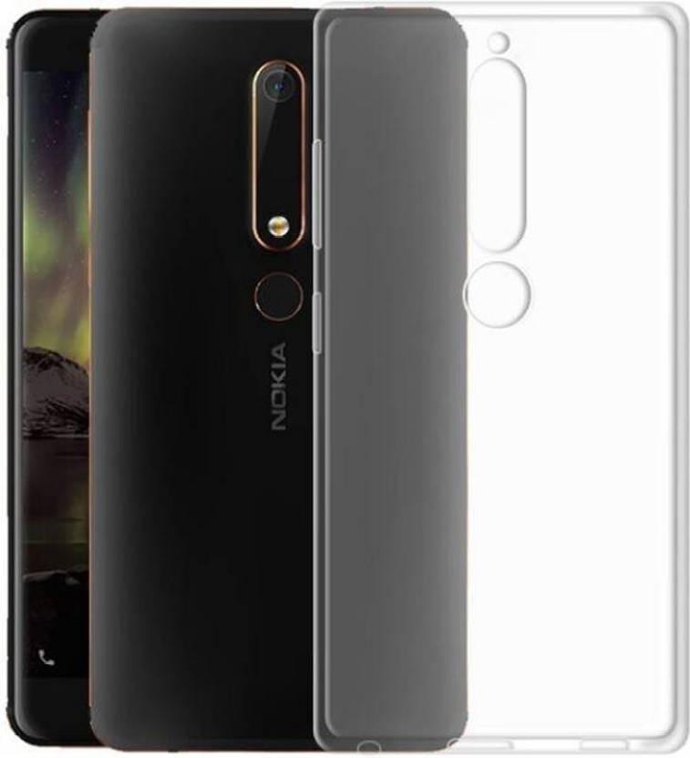 brand new 058eb 7123f Thundershoppe Back Cover for Nokia 6.1 (Nokia 6-2018)