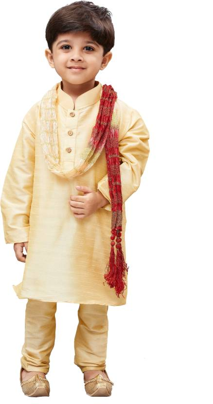 45acfd2ef1 JBN Creation Boys Kurta, Pyjama & Dupatta Set Price in India - Buy JBN  Creation Boys Kurta, Pyjama & Dupatta Set online at Flipkart.com