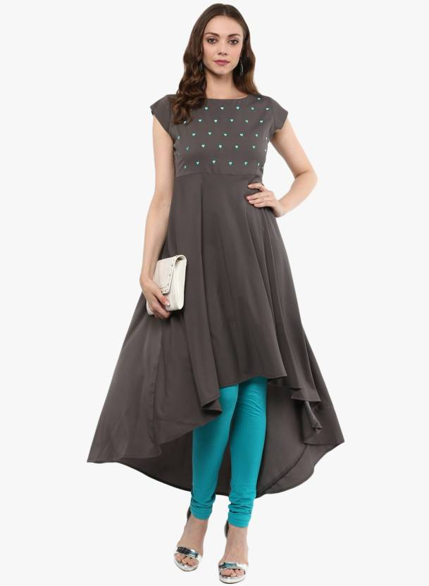 7ca4e0aed MBE Women s Embroidered Anarkali Kurta - Buy MBE Women s Embroidered ...