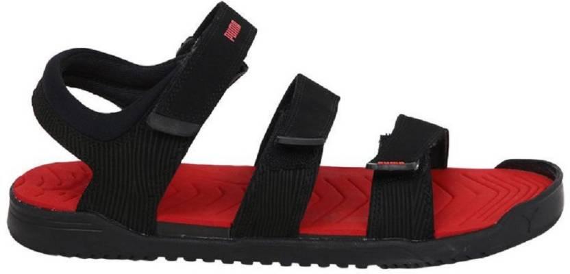 429ebf78d40a Puma Men Black Sports Sandals - Buy Puma Men Black Sports Sandals ...