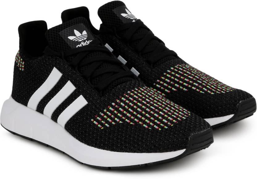 uk availability 2fd7a e41a3 ADIDAS ORIGINALS SWIFT RUN W Sneakers For Women (Black)