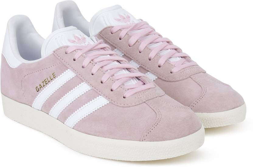 low priced 91d51 226d0 ADIDAS ORIGINALS GAZELLE W Sneakers For Women (Pink)