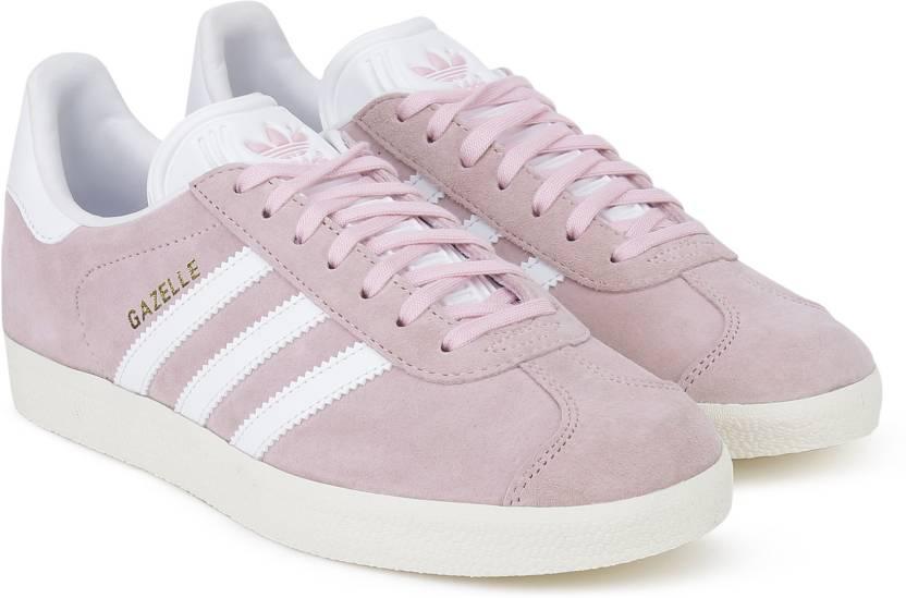 low priced 2604e d0e02 ADIDAS ORIGINALS GAZELLE W Sneakers For Women (Pink)