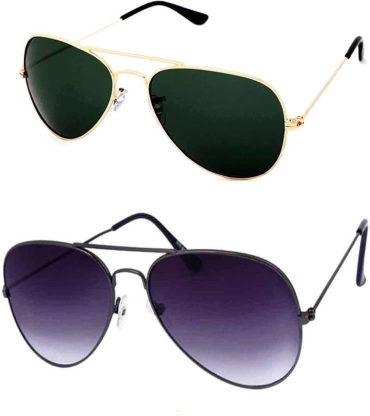 0fd0002d36 Buy Barbarik Aviator Sunglasses Black