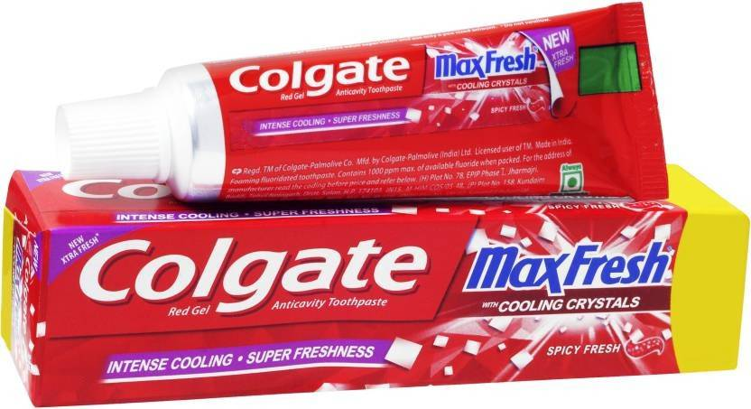 Colgate Maxfresh Red Gel Toothpaste - Buy Baby Care Products