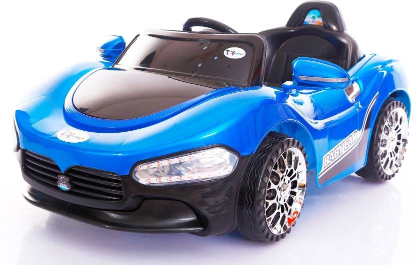Toy House Xander S Sporty Rechargeable With Remote For Kids 2 To 4 Yrs Car Battery Operated Ride On Blue