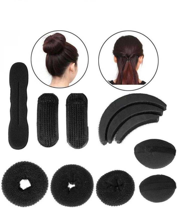 3388a133ae75 Beauty Lifestyle Hair ban and Hair clip , pin Hair Accessory Set (Black)
