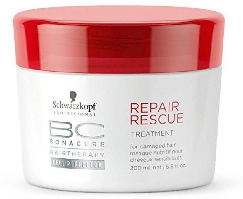 88ded825e6 Schwarzkopf Professional BC Hair Therapy Repair Rescue Treatment (200 ml)