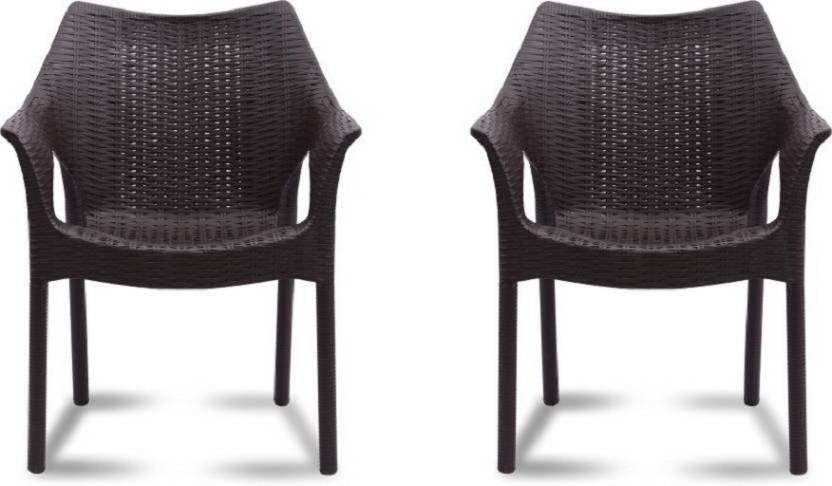 Supreme Cambridge Plastic Outdoor Chair Set Of 2