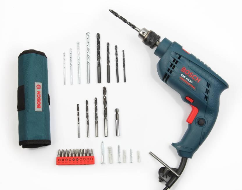 Bosch Gsb 450 Re 0601 216 1f6 Pistol Grip Drill Price In India Buy