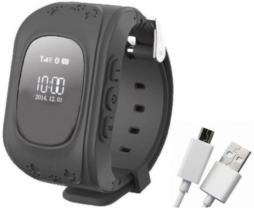 Bluebells India ™Silicon Kids GPS Wrist 2-Way Call BT anti