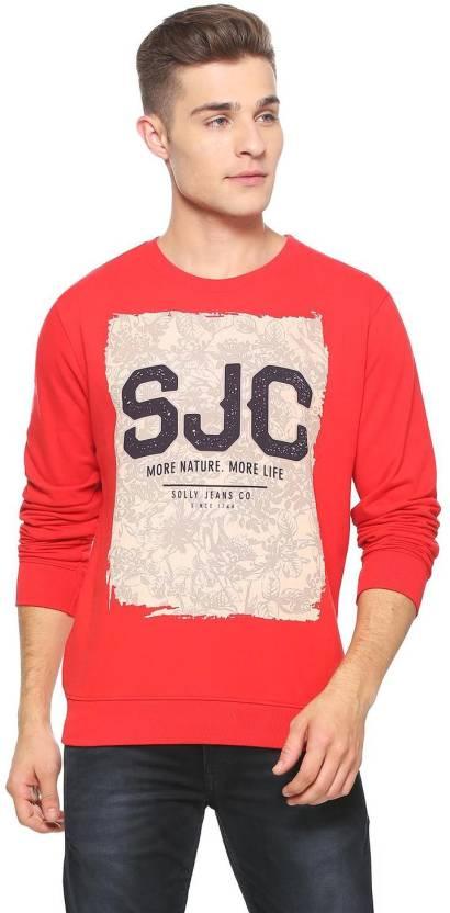 12fcf2cd3c5 Allen Solly Full Sleeve Floral Print Men Sweatshirt - Buy Allen Solly Full  Sleeve Floral Print Men Sweatshirt Online at Best Prices in India