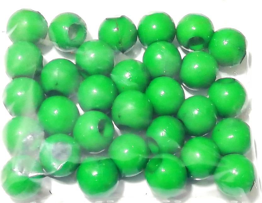 GOELX Plastic Round Beads for Beading, Jewellery Making