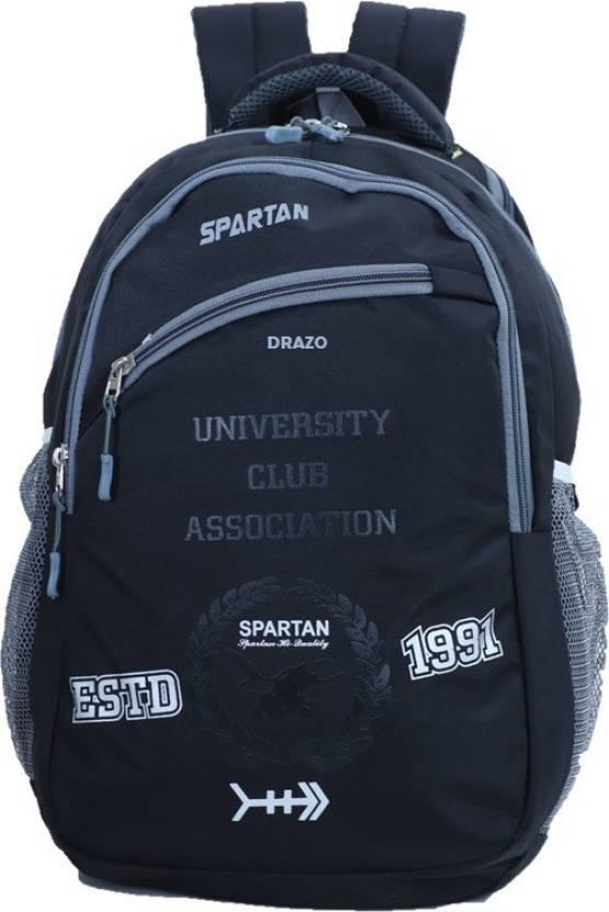 04949819c450 DRAZO -500 Waterproof School Bag (Black