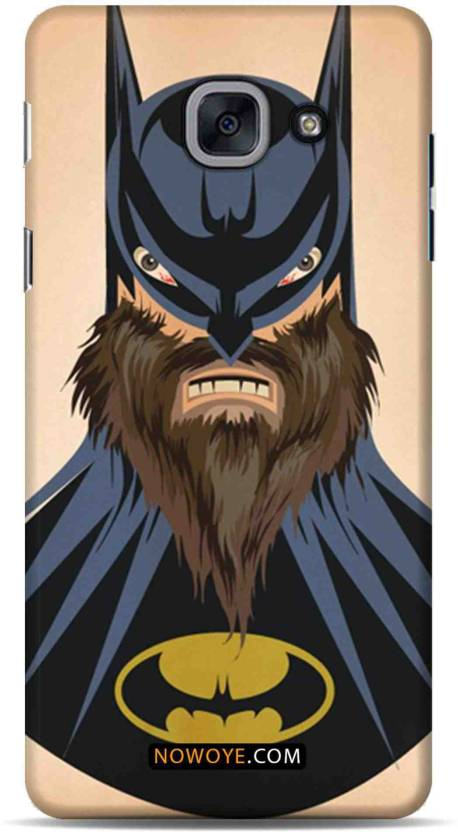 35b8f632e13 Now Oye Back Cover for Now Oye Samsung Galaxy J7 Max - Batman with a beard  Mobile Cover (Multicolor