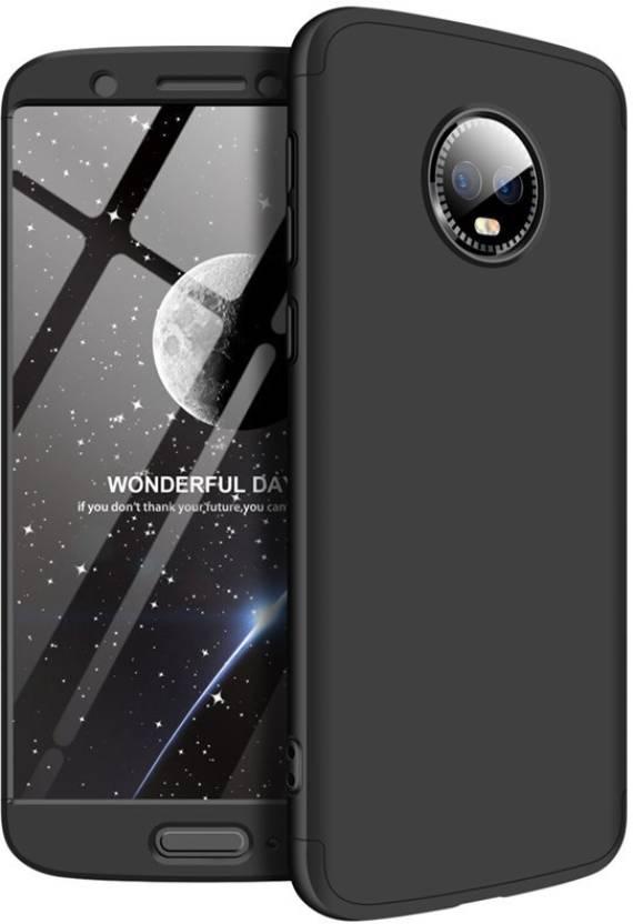 Trendycart Back Cover for Motorola Moto G6, 3 in 1 360 Degree Full