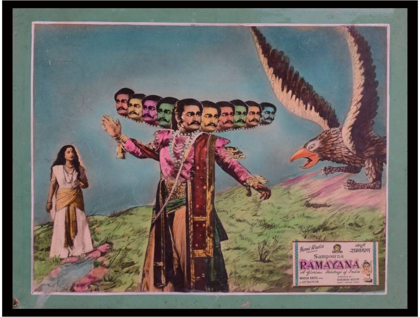 Movie Posters -Sampoorna Ramayana Canvas Art - Movies posters in