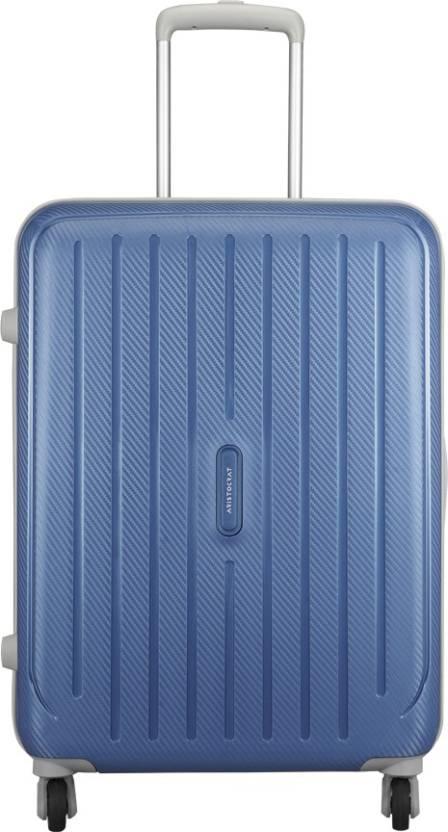 148a0e3dec Aristocrat Photon Strolly 65 360 Mab Check-in Luggage - 25 inch Blue ...