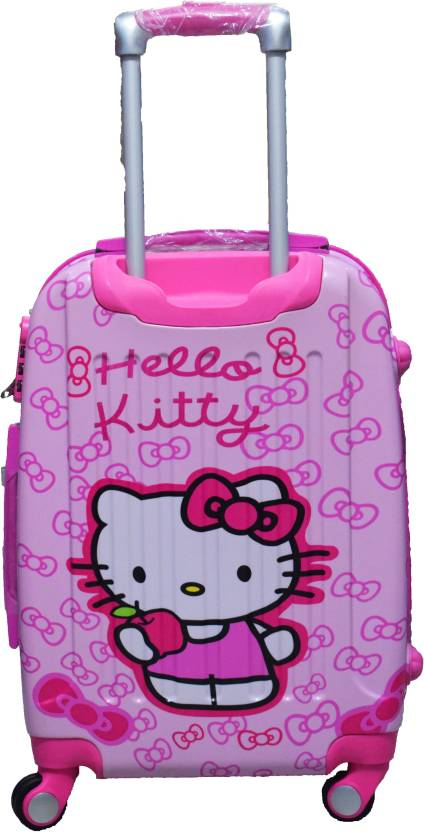 abf6385c4 sinomate Limited Edition Hello Kitty Designer Polycarbonate Trolley Bag  (Pink) Cabin Luggage - 17 inch (Pink)