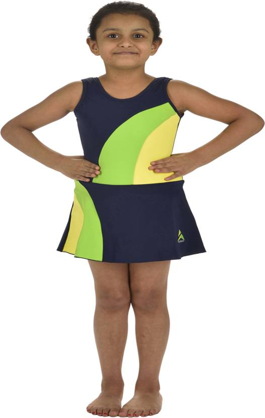 782269c9f95f2e Attiva Solid Girls Swimsuit - Buy Navy Attiva Solid Girls Swimsuit Online  at Best Prices in India | Flipkart.com