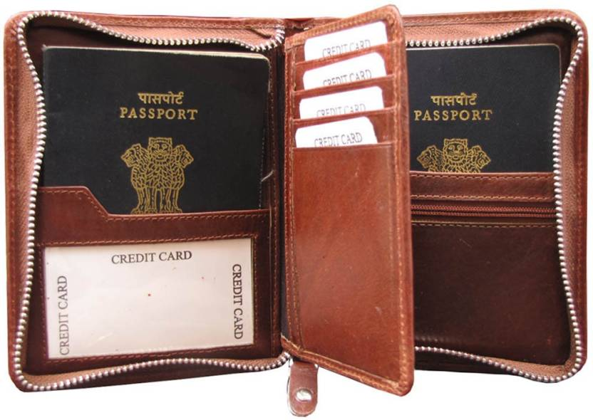 8b88e144e ABYS Rakshabandhan Gift-Genuine Leather Passport Wallet