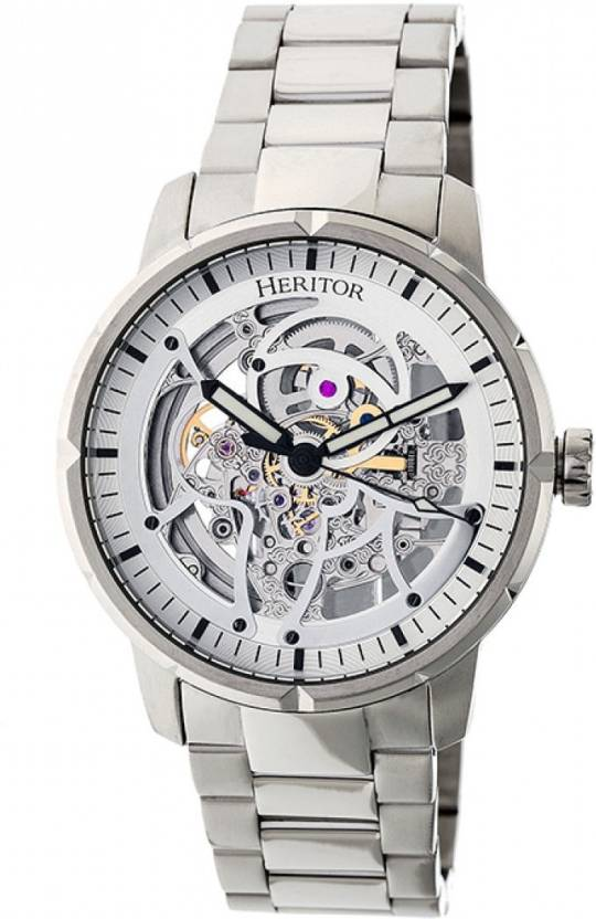 bd8e50bd9 Heritor Automatic HERHR4607 Watch - For Men - Buy Heritor Automatic  HERHR4607 Watch - For Men HERHR4607 Online at Best Prices in India    Flipkart.com