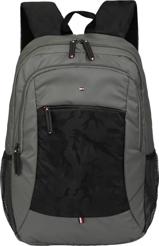 3035a4ec4 Tommy Hilfiger Classic 22.32 L Backpack Grey - Price in India ...