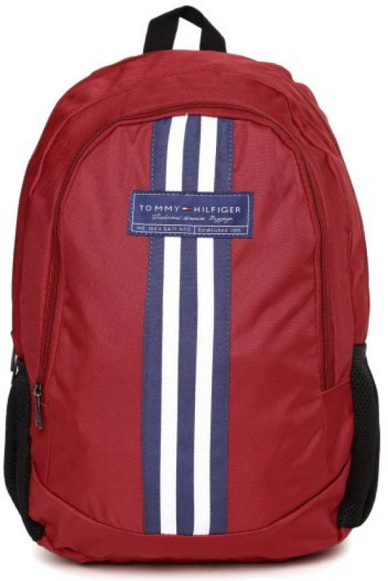 cd7dcfb9 Tommy Hilfiger Th/bikcl04stb 23 L Backpack RED - Price in India ...