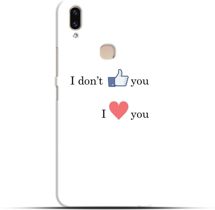 Saavre Back Cover for I Don'T Like You I Love Facebook Instagram for
