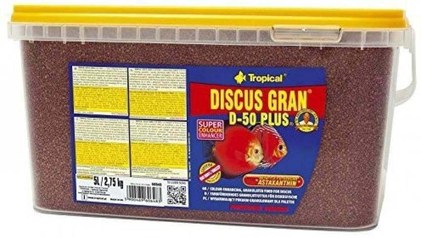 tropical DISCUS GRAN D-50 PLUS 2 2 kg Dry Fish Food Price in