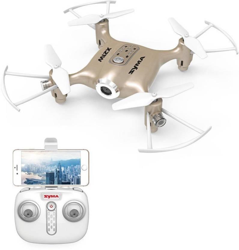 673599f1958 Hobbitos Syma X21W Mini FPV Drone with WIFI Camera Live Video APP Control  with Flight Plan