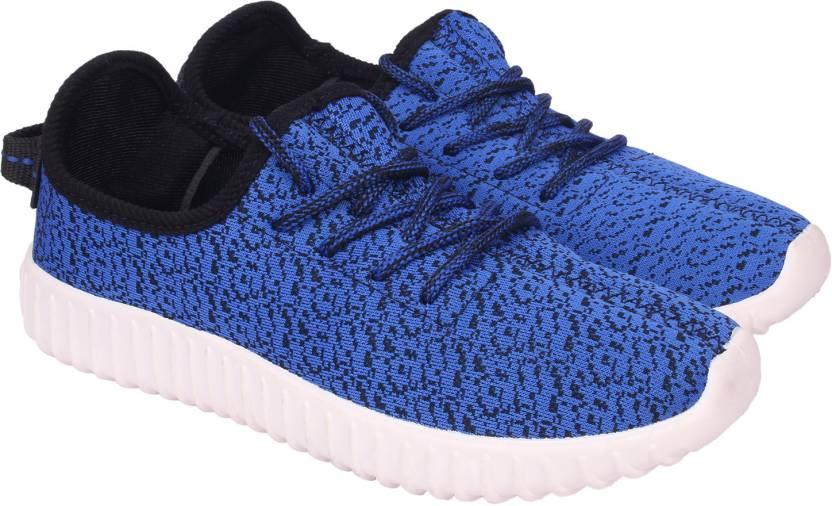 434ff4661af8 Lets Run Canvas Shoes For Men - Buy Royal Blue Color Lets Run Canvas ...
