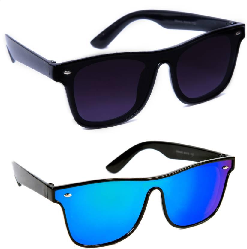 b78006ba3 Buy TheWhoop Wayfarer Sunglasses Black, Blue For Men & Women Online ...