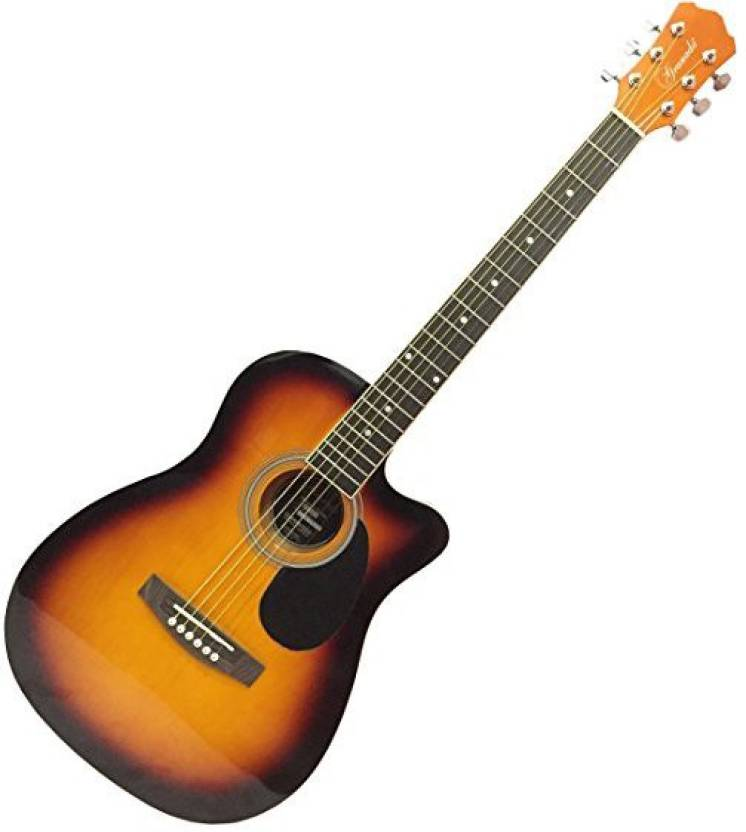 Granada PRS-1 Acoustic Guitar, Medium, Vintage Sunburst