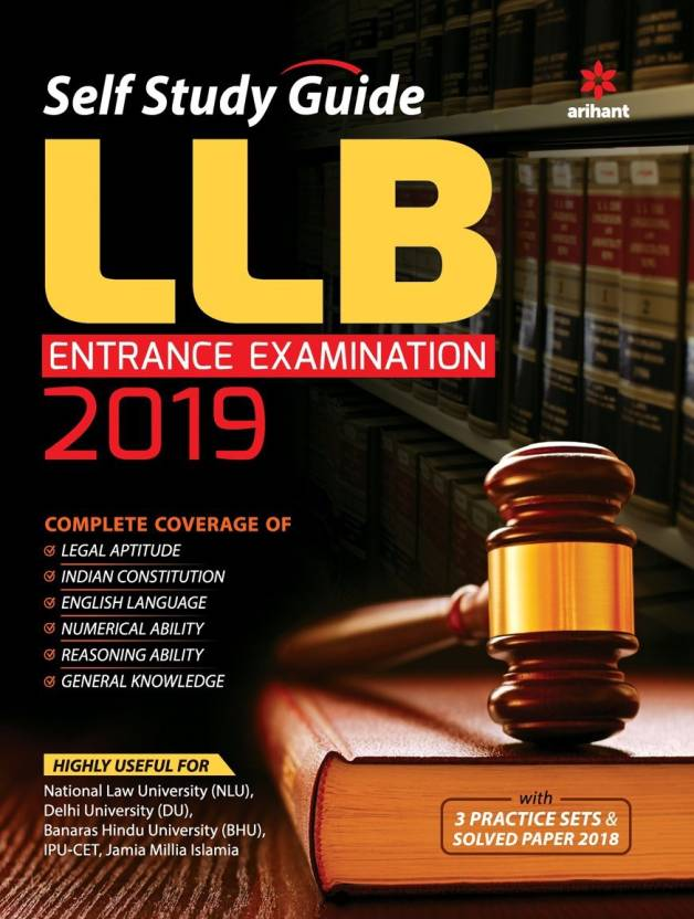 Self Study Guide For LLB Entrance Examination 2019: Buy Self Study