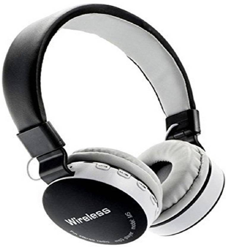 6e888e243e8 Royal Mobiles MS-881 C or A Full Dolby Sound Bluetooth headphone With FM  and micro SD FOR LAPTOP, PC, MOBILE Bluetooth Headset with Mic (Black,  White, ...