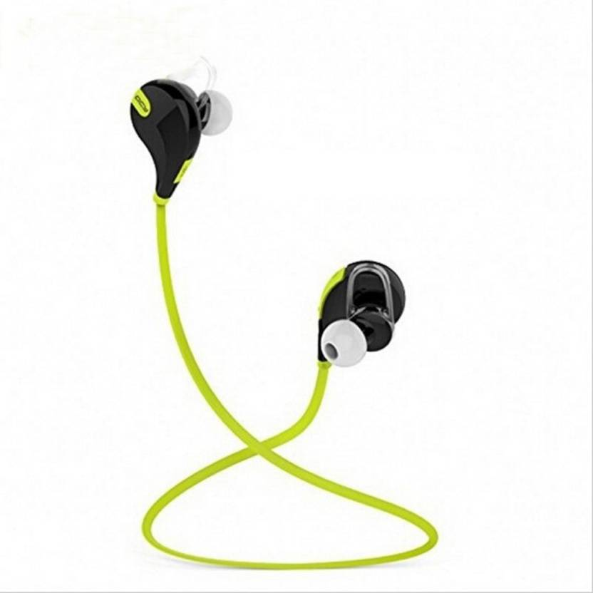 c33654522f7 Royal Mobiles QY7 Bluetooth Headset with Mic (Green, Red, Black, Blue, In  the Ear)