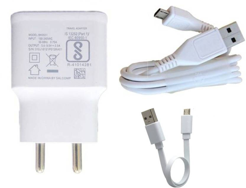 Duisah Wall Charger Accessory Combo for Vivo V5 Charger