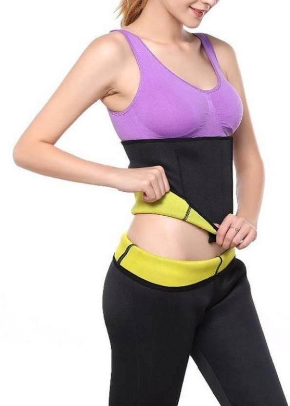 0cff55103f Deepak Hot Shaper Belt Best Tummy KUTxx5 Slimming Belt (Black) XL Slimming  Belt