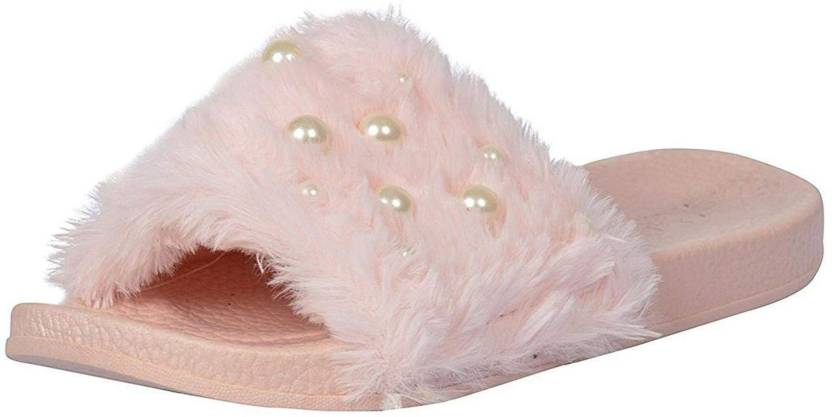 57e2b12c6 Crostail Stylish Slippers for girls and women Slides - Buy Crostail Stylish  Slippers for girls and women Slides Online at Best Price - Shop Online for  ...