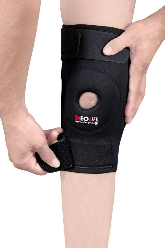 df4c3bc3511 Neolife Dual Hinged Knee Brace Wrap Support
